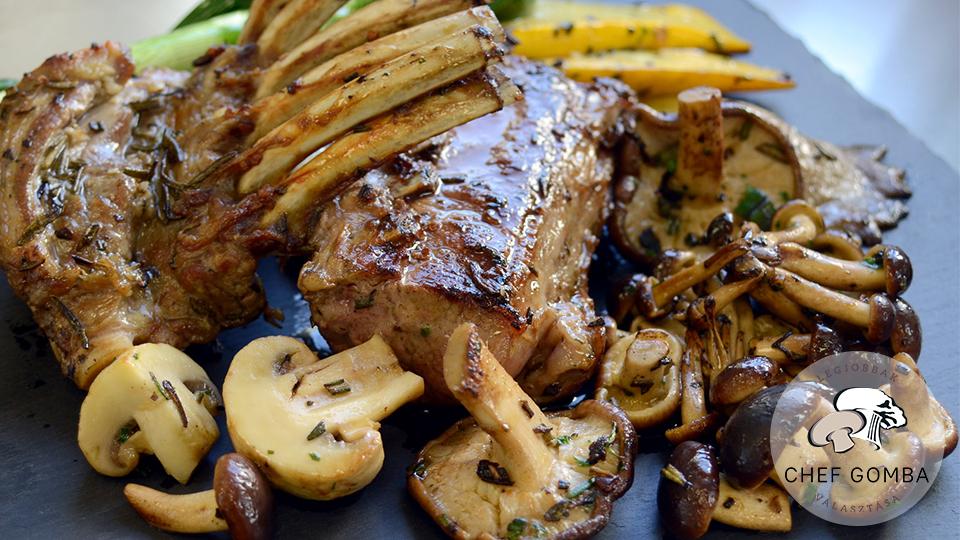 ChefGombaGrillezettBaranybordaVegyesGombaval