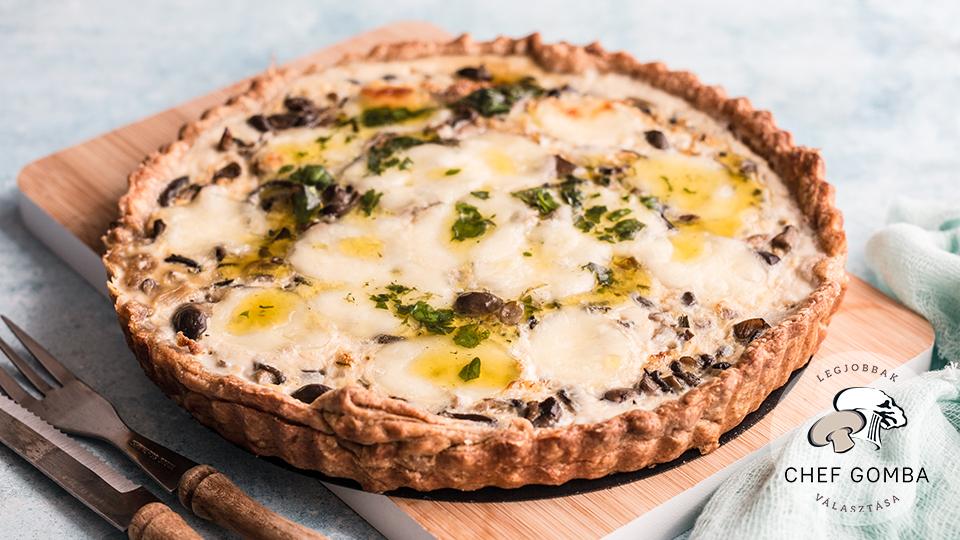 ChefGomba laskagombás pite