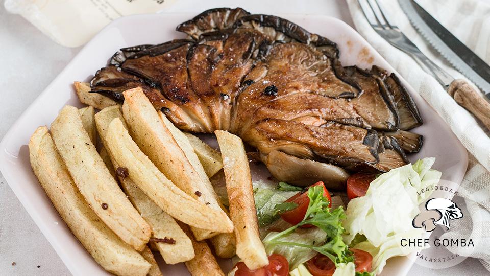 ChefGomba laskagomba steak