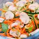 ChefGomba nyers gombas romai salata