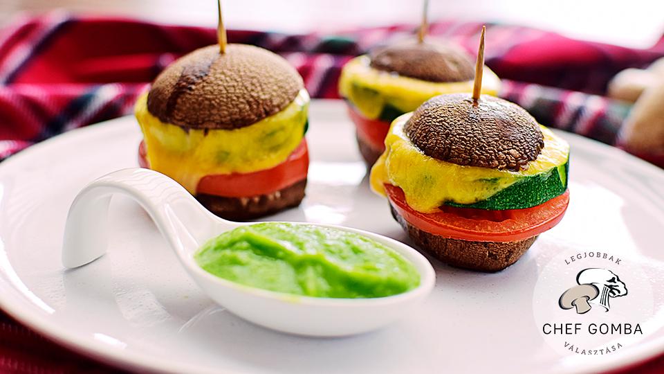 Mini gombaburger
